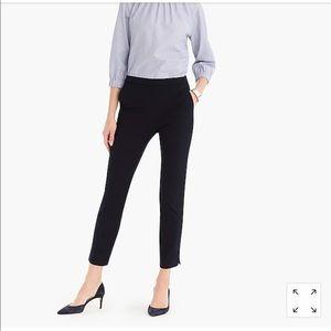 Martie Crop Pant with side zipper